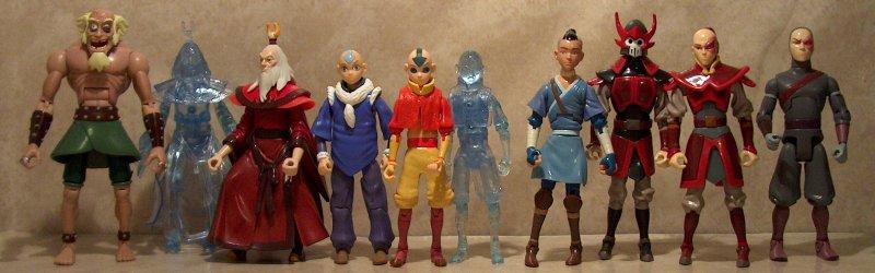 Avatar the Last Airbender Aang Action Figure Avatar Spirit