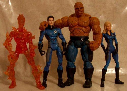 Fantastic Four Movie Figures