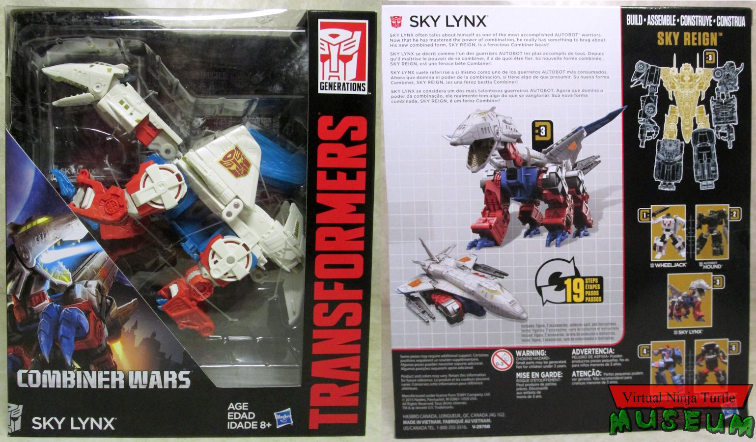 Sky Reign! Transformers Generations Combiner Wars Sky Lynx NEW